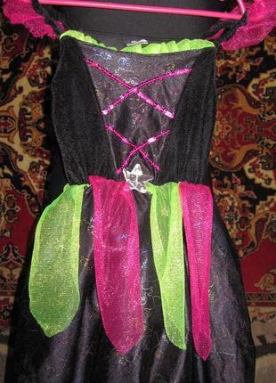 Платье карнавальное.7-8 летрост 122-128см
