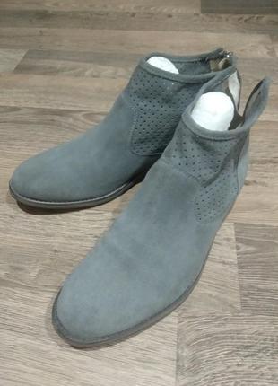 Полусапожки 5th avenue, ботинки, мокасины замшевые 🌿весна🌿, размер 40