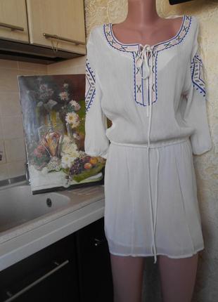 #julie#красивая вышиванка 100% вискоза # блуза#
