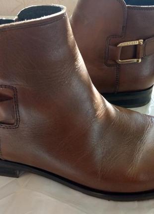Кожаные ботиночки tomi hilfiger