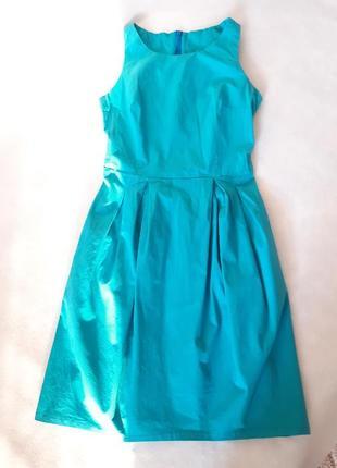 Платьице для девочки, цвет бирюза
