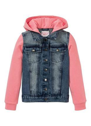 Куртка, джисовая для девочки146 см (10-11 years)  pepperts 58434