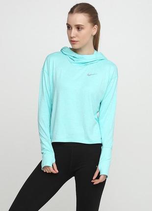 Кофта свитшот худи nike element women's running оригинал! - 20%