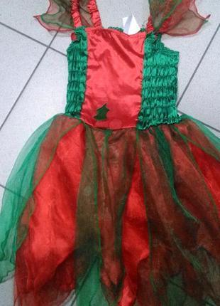 Платье карнавальное,6 лет