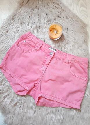 Джинсовые шорты alive 164 размер розовые