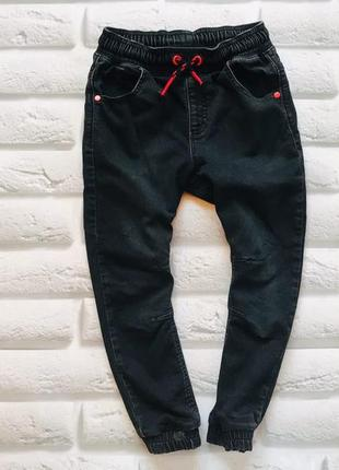 George стильные трикотажные джинсы на мальчика 5-6 лет