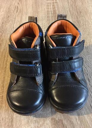 Кожаные ботиночки geox туфли ботинки размер 19 кожа