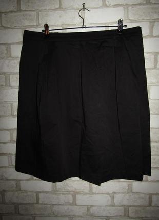 Черная юбка р-р 20 бренд bpc1 фото