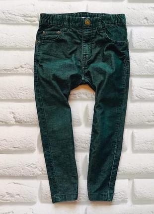 H&m стильные новые вельветовые штаны на мальчика 3-4 года