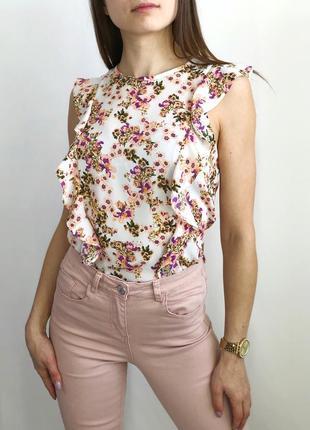 Нежная блуза с рюшами 1+1=3