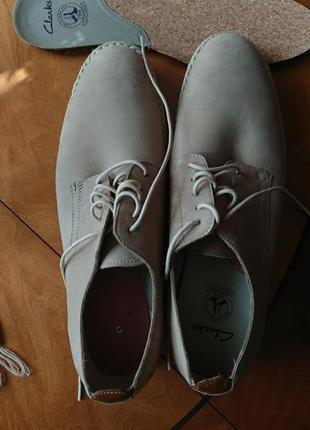 Фірмові англійські туфлі clarks,оригінал,нові.