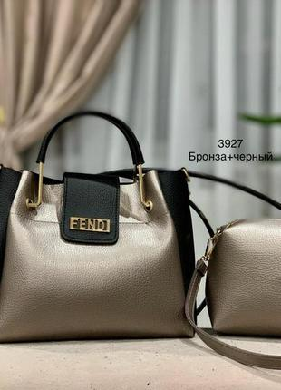 Женская сумка экокожа комплект (арт.л909)
