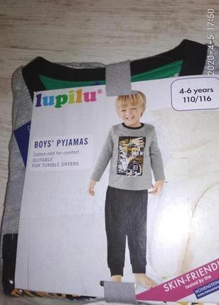 Пижама/комплект для дома/сна на для мальчика 4-6 лет, германия