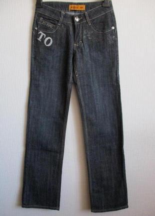 Sale -50%! серо-синие джинсы