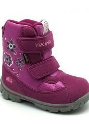 Viking, зимние ботинки princess 7-ка.24-25р