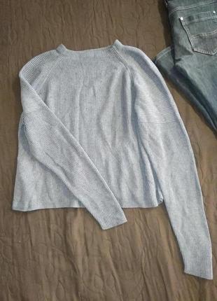 Базовый ,фирменный свитер укороченный джемпер кофта качество 👍💣-s m