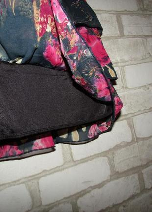 Летняя красивая юбка р-р м бренд amisu4 фото