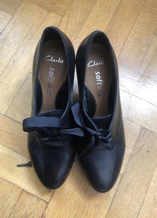 Ботинки, полуботинки, ботильоны, clark's 38 размер, идеальное состояние