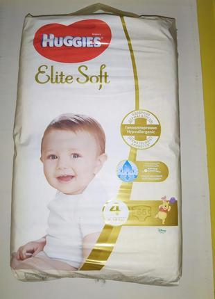 Подгузники huggies elite soft 4 памперсы хаггис элит софт 4
