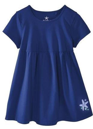 Трикотажное платье для девочки lupilu р. 110/116