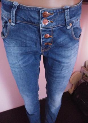 #розвантажуюсь стильные джинсы с потёртостями от only