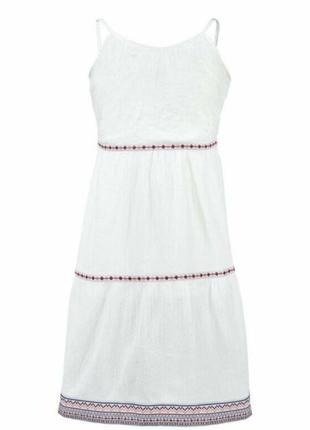 Легенькое длинное платье для девочки lupilu р. 110