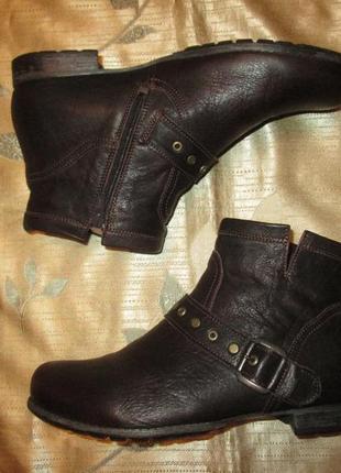 Кожаные ботинки think оригинал р. 38.5