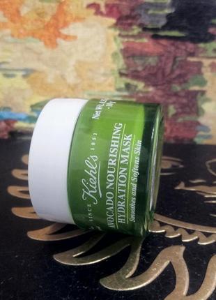 Питательная маска для лица с авокадо kiehls2 фото