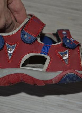 Стильные спортивные сандали босоножки для мальчика primigi