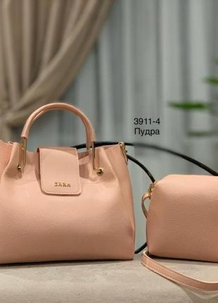 Женская сумка экокожа комплект (арт.л989)