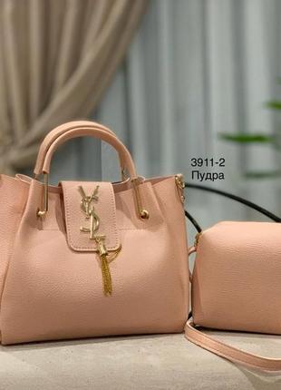 Женская сумка экокожа комплект (арт.л990)