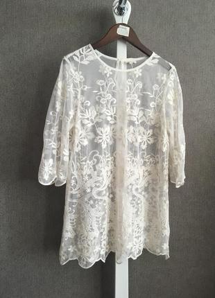 Вышитая блуза, туника