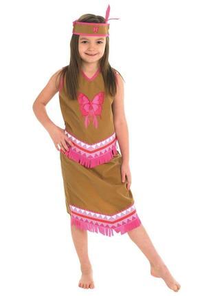 Индеанка индианка индеец пакахонтас 7-8 лет