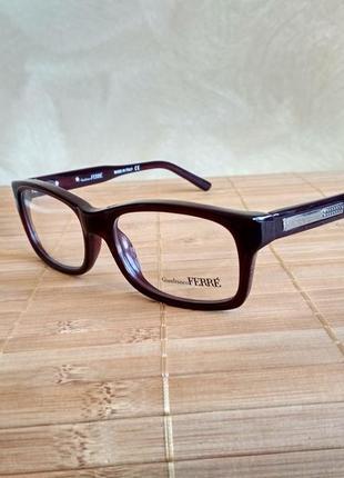 Классическая новая оправа под линзы,очки оригинал  g.ferre gf 009 04