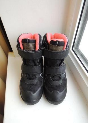 Зимние ботинки сапоги gulliver waterproof vibram, р.31