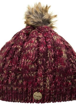 Шапка regatta frosty hat ii burgundy