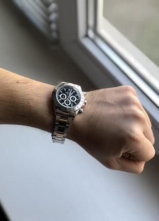 Наручные часы унисекс серебристого цвета
