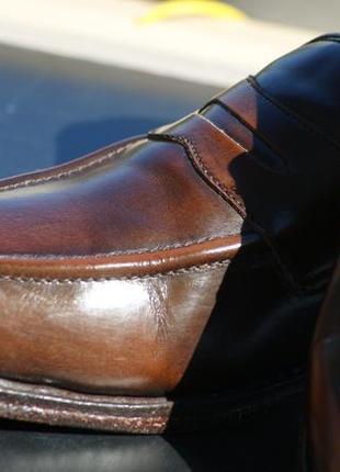 Оригинальные кожаные туфли, лоферы samuel windsor handmade england