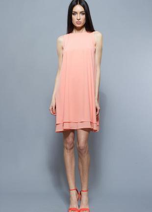 Легкое платье от bgl персик