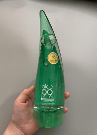 Универсальный гель holika holika aloe 99% soothing gel {250 мл }