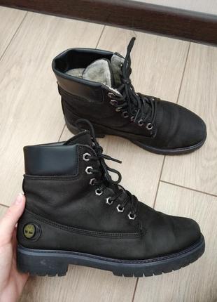 Ботинки зимние тимберленды timberland
