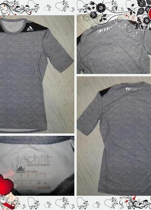 Обнова! спортивная футболка для фитнеса adidas оригинал