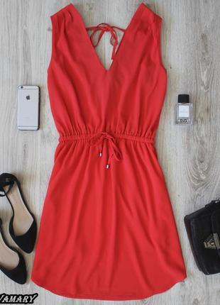 Коралловое платье pimkie