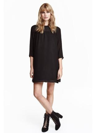 Чёрное платье hm