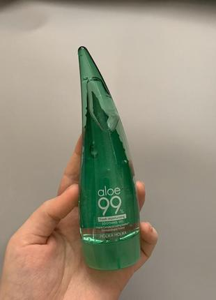 Гель с алоэ holika holika aloe 99% soothing gel {55 мл}