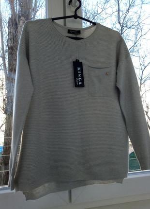 Тонкий мягкий свитер