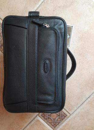 Шкіряна чоловіча сумка