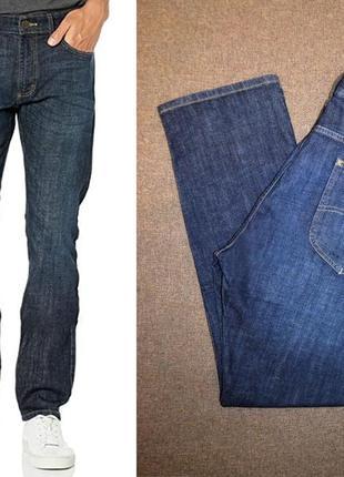Джинсы lee jeans slim fit tapered leg 42w x 32l