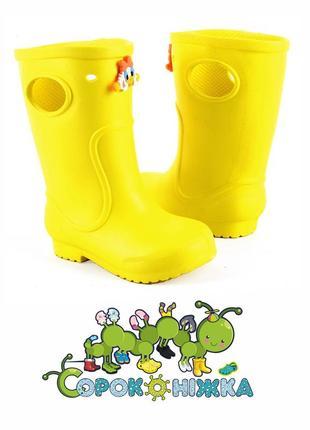 Сапоги детские пена резина / чобітки дитячі піна ризові