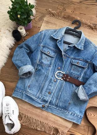 Олдскульна джинсовка wrangler